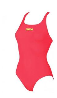 Malla Natacion Arena Solid Swim Pro Enteras Enteriza Mujer