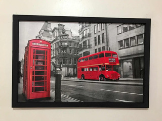 Cuadro Decorativo Londres Cabina