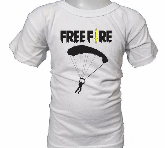 Sero Remera Free Fire Para Niño