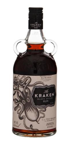 Botella De Ron Kraken 750ml