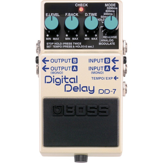 Pedal Digital Delay Boss Para Guitarra Dd-7