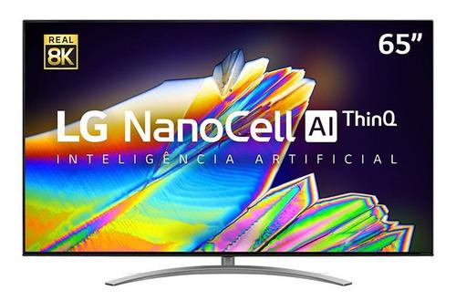 Imagem 1 de 7 de Smart Tv 8k 65 LG Nanocell 4 Hdmi 3 Usb Wi-fi 65nano96sna