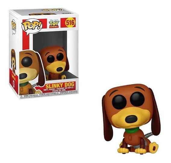 Boneco Pop Funko Toy Story Slinky Dog Cachorro #516