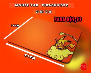 Mouse Pad Pikachu Dbz