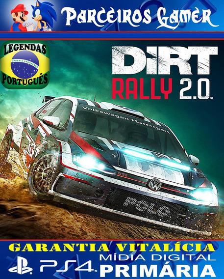 Dirt Rally 2.0 - Corrida Rali - Ps4 1 Mídia Digital Promoção