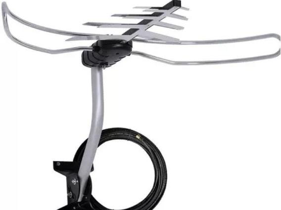 Antena Digital Com Conversor