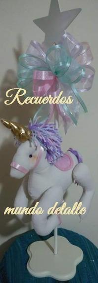 Centros De Mesa Originales Tema Unicornio Modernos Elegantes