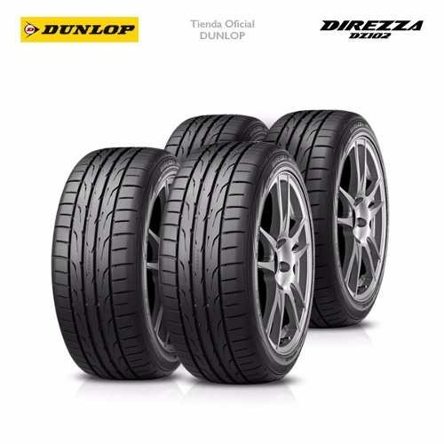 Kit X4 195/55 R15 Dunlop Direzza Dz102 + Tienda Oficial