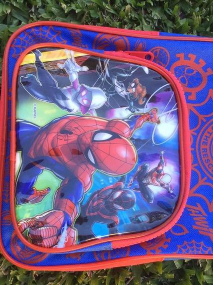 Mochila De Niño Spiderman Importada