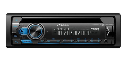 Som automotivo Pioneer DEH S4280BT com USB e bluetooth