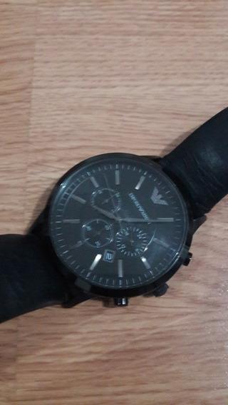Relógio Empório Armani Ar-2461 Couro