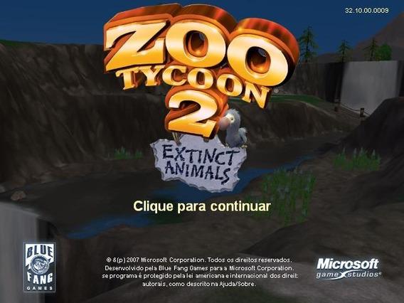 Zoo Tycoon 2 Coleção Completa Legendado Em Português Pc