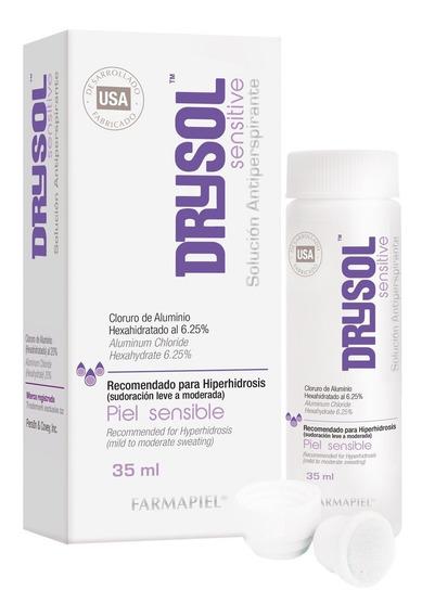 Antitranspirante Sudoración Excesiva - Drysol Sensitive 48hr