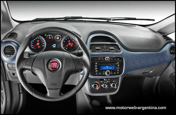 Fiat Punto 1.4 Attractive C/radio Integrada 2014 Primer Mano