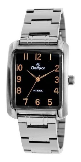 Relógio Feminino Champion Steel Quadrado Ca20661t