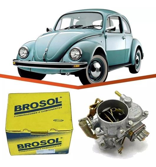 Carburador Fusca 1600 Gasolina H30 Original Brosol Novo