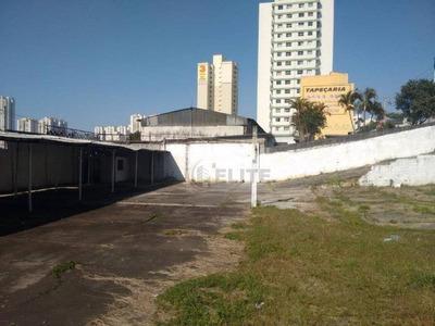 Terreno Para Alugar, 1272 M² Por R$ 6.900/mês - Rudge Ramos - São Bernardo Do Campo/sp - Te0271