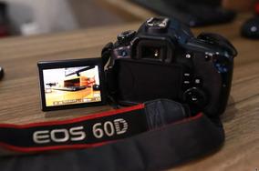 Câmera Dslr 60d Canon + Objetiva Efs 17-85mm