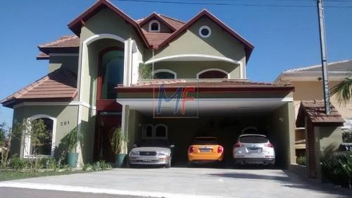 Imagem 1 de 14 de Ref 10.885 Casa No Residencial Morada Dos Lagos  Barueri Com  5 Suítes,  6 Vagas, 480 M² A.c., 560 M² Terreno. Aceita Permutas. - 10885
