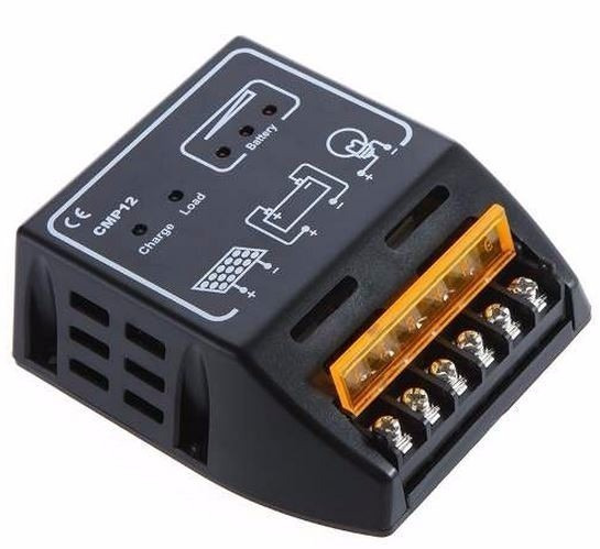 Controlador De Carga 20a 12v/24v 240w/480w Painel Solar Nfe