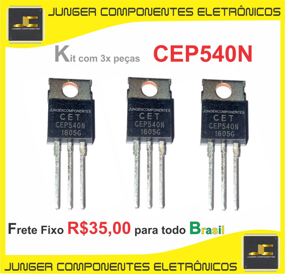 Cep540n - Cet540n - Cep540 - Original - Kit Com 3x Peças