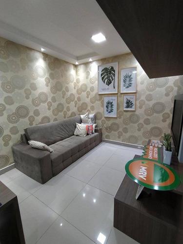 Apartamento Com 2 Dormitórios À Venda, 58 M² Por R$ 129.900,00 - Jansen - Gravataí/rs - Ap0742
