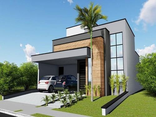 Casa Com 3 Dormitórios À Venda, 110 M² Por R$ 400.000,00 - Condominio Golden Park Sigma - Sorocaba/sp - Ca0034 - 67640026