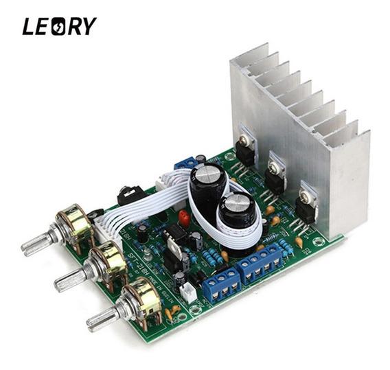 Leory Tda2030a 2*18w 2.1 Canal Subwoofer Amplificador Placa