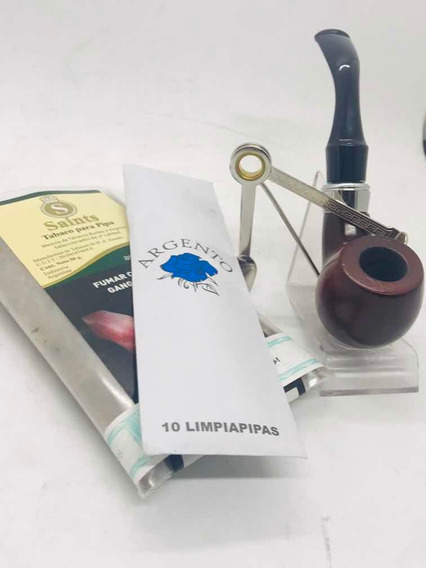 Combo Pipa Tabaco Trío Checo LimpiadorCandy Once
