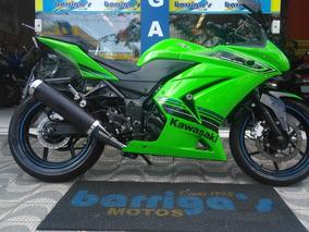Kawasaki Ninja 250cc Verde Ed 2012 Único Dono