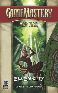Gamemastery Map Pack Elven City