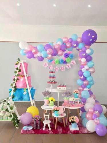 Imagen 1 de 8 de Decoración Fiesta Infantil Primer Año Bautizo Comunion