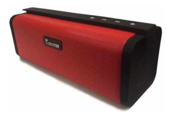 Caixa De Som Bluetooth 10w Rms Portátil Kimaster So-331!