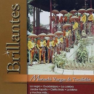 Mariachi Vargas De Tecatitlan Brillantes Cd