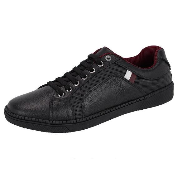 Sapato Masculino Sapatenis Casual/social Em Couro Legitimo