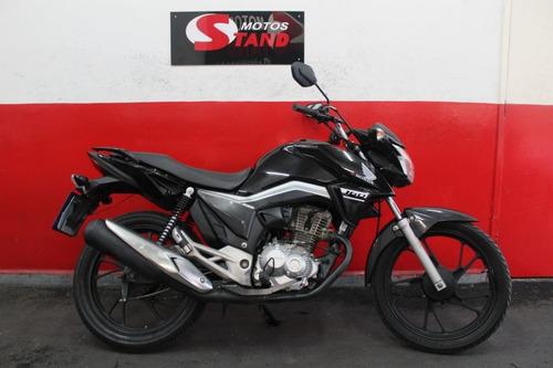 Imagem 1 de 11 de Honda Cg 160 Start 160 Cg Start 160 2017 Preta Preto