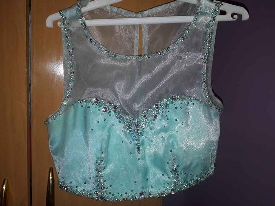 Vestido De 15 Años Color Aquamarina