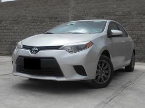 Toyota Corolla 1.8 Base At 2015 Plateado