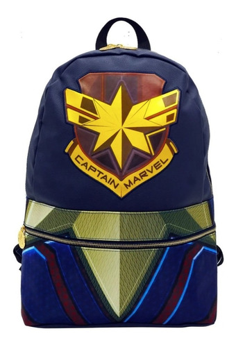 Mochila Captain Marvel Original Mod 9921