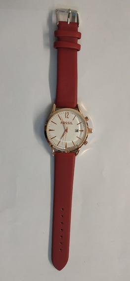 Reloj Análogo Para Dama Rojo
