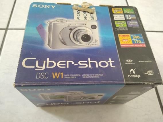 Câmera Digital Sony W1 Dsc
