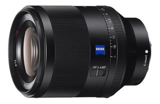Lente Objetivo Sony Fe 50mm F1.4 Za Sel50f14z Full Frame