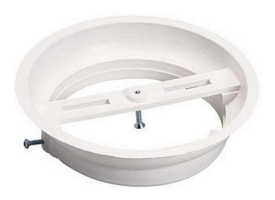 Plafonier Plastico Branco Luconi