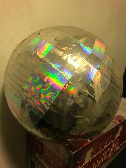 Esfera De Holograma Tipo Espejos Para Salones O Antros.