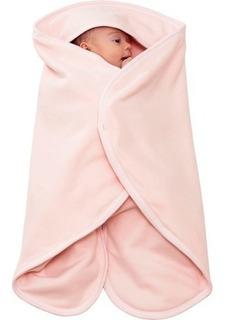 Cobertor De Vestir O Bebe Rosa 23002r - Kababy