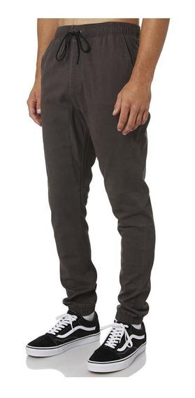 Pantalon Rusty Hook Out Elastic Carbon Hombre