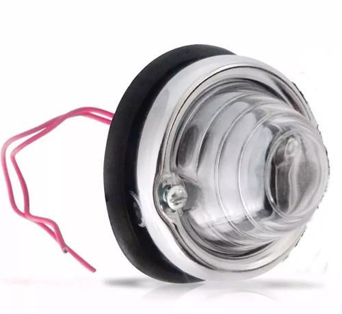 Imagem 1 de 1 de Lanterna Dianteira  Jeep/ Rural 69/ 79 Menor 60mm Diametro