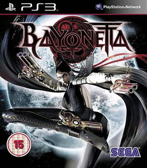 Bayonetta Ps3 Mídia Física Super Novo