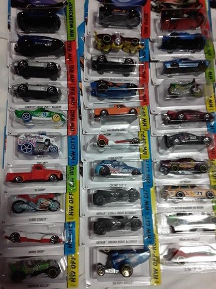 Carros Hotwheel Nuevo Varios Modelos X 3 Unidades