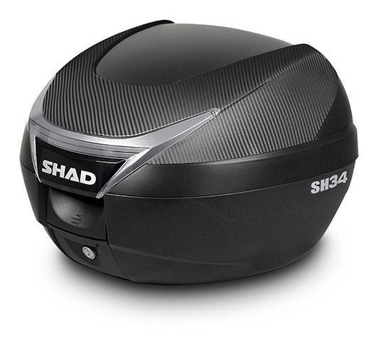 Maleta Trasera Para Moto Shad Sh34 Carbono Baul 34 L